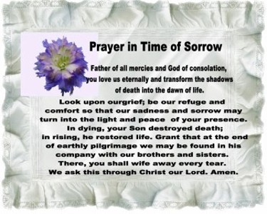 Prayer in Sorrow